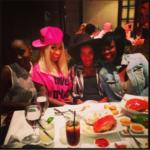 Photo of Nicki Minaj with girlfriends in Beverly Hills