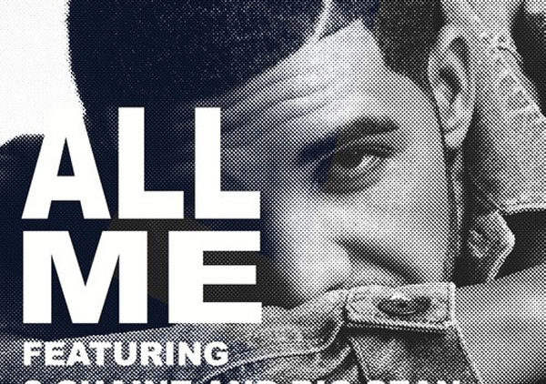 Drake ft 2 Chainz, Big Sean – All Me single coverart