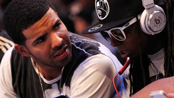 Photo – Drake and Lil Wayne