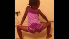 5 to 8 yr old Little Girl Twerkin On Facebook To Ciara
