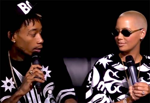 Amber Rose and Wiz Khaflia Talks Twerking, Wedding and more on Angie Martinez