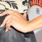 Photo of Naya Rivera engagement ring from Big Sean