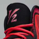 Air Lil Penny V Red Pair tongue