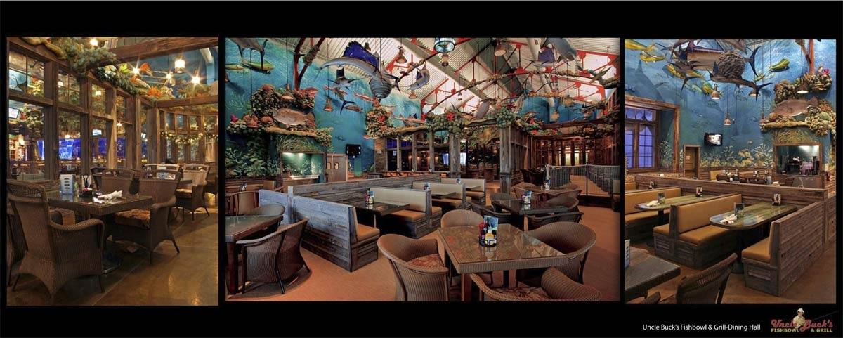 B Pro Memphis Pyramid Uncle Buck S Fishbowl Grill Dining Hall