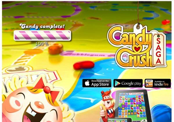 Candy Crush Saga by King (Facebook App)