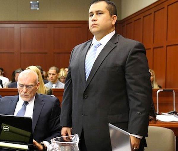 Photo - George Zimmerman in court