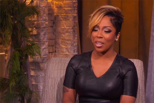 R&B singer K. Michelle new hairstyle