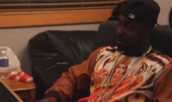 Young Buck in the studio Rolling Stone