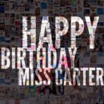 Beyonce posts image Happy Birthday Miss Carter