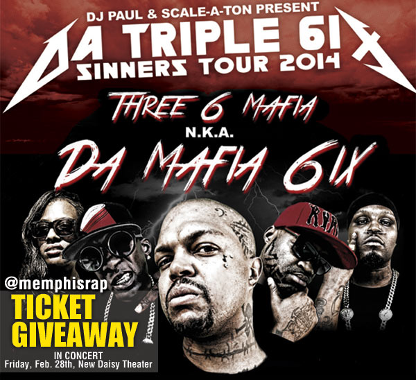 Da Mafia 6ix Contest and Ticket Giveaway
