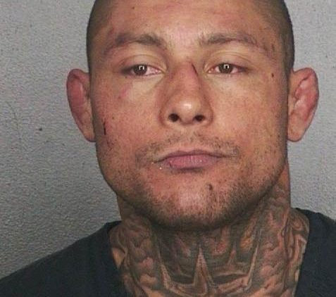 Mugshot of UFC fighter Thiago Silva