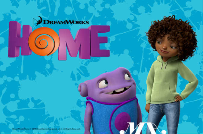 Home 3D Animation film by Dreamworks