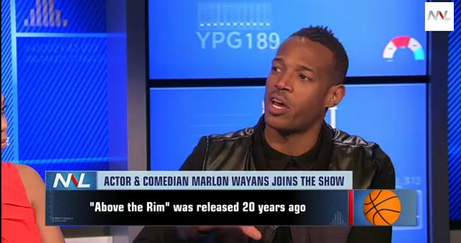 Marlon Wayans on Numbers Never Lie