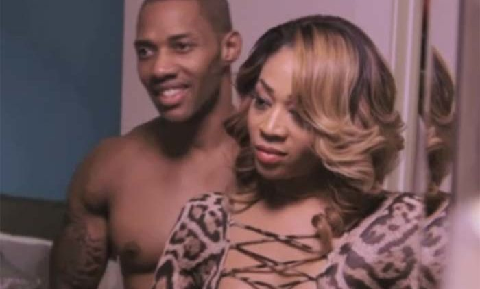 Mimi Faust and Nikko in mirror Love and Hip Hop Atlanta season 3