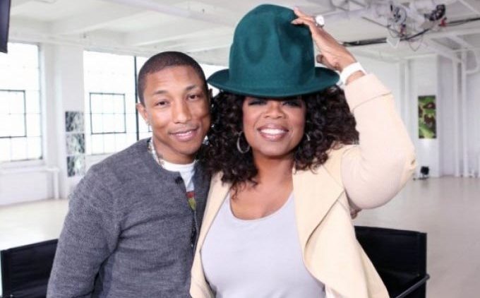 Oprah Winfrey and Pharrell Williams Happy on Prime