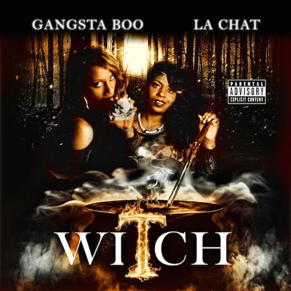 Gangsta Boo and La Chat Witch album cover artwork