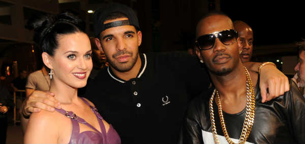 Katy Perry Drake and Juicy J photo