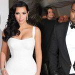 Kim Kardashian and Kanye West - blast marriage and wedding pics