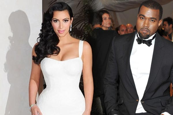 Kim Kardashian and Kanye West - blast marriage and wedding pics