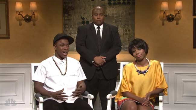 Solange, Jay-Z, bodyguard, Beyonce SNL spoof