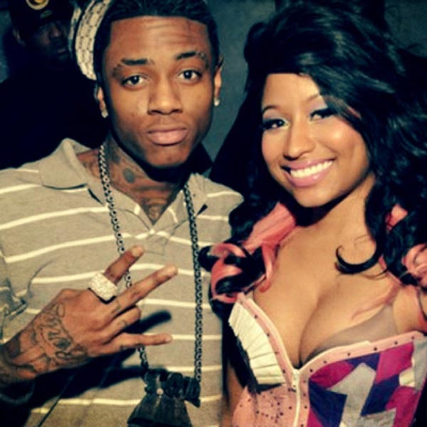 Soulja Boy and Nicki Minaj