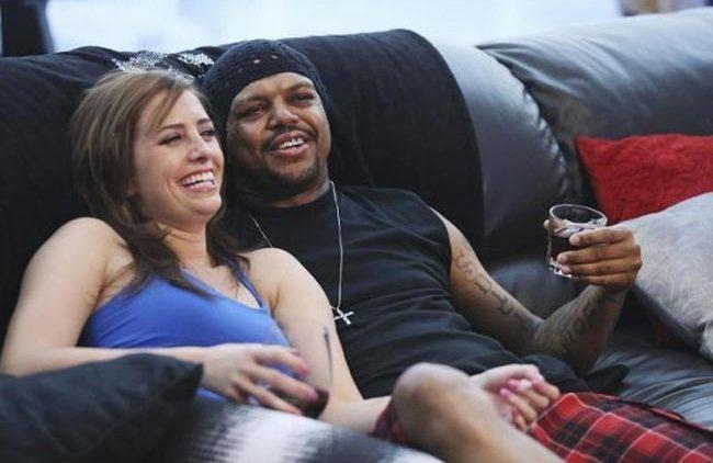 DJ Paul and future wife Majda on Celebrity Wife Swap