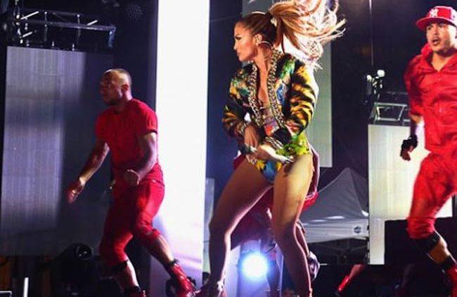 Jennifer Lopez Booty iHeartRadio Pool Party