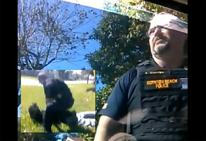 Boynton Beach Florida Police Officers arrest
