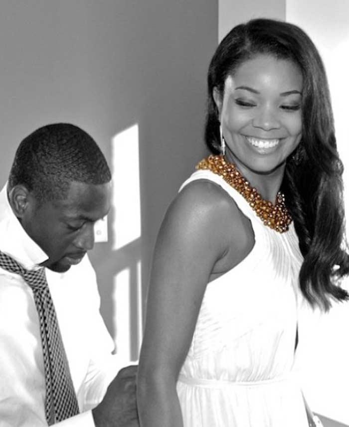 Gabrielle Union Dwyane Wade get married