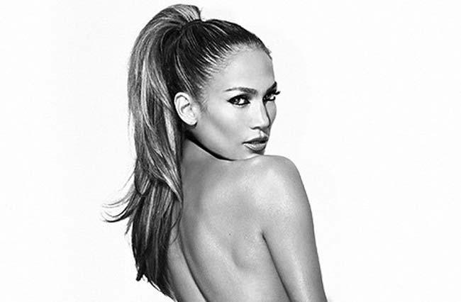 Jennifer Lopez booty promo picture