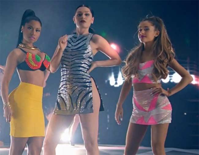 Jessie J Nicki Minaj Ariana Grande Bang Bang VMA