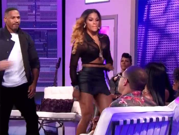 Joseline Hernandez Althea fight Love and Hip Hop Atlanta