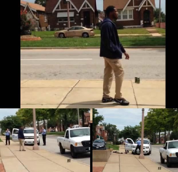 Kajieme Powell unarmed killed by St Louis police following Michael Brown