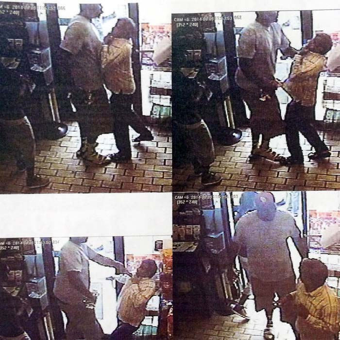 Michael Brown jacks up employee after allegedly taking cigars