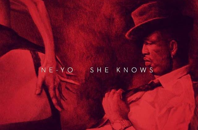 Ne-Yo She Knows music single artwork