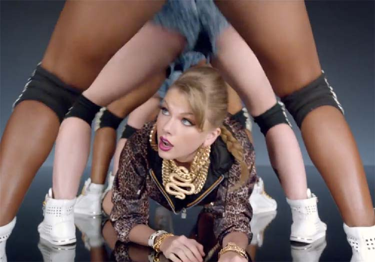 Taylor Swift Shake It Off twerking music video