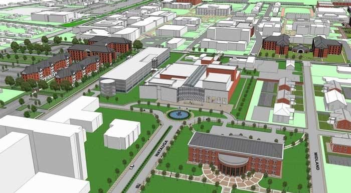 University of Memphis new Music Center