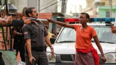mom pulls machete on cop Cristo Rey