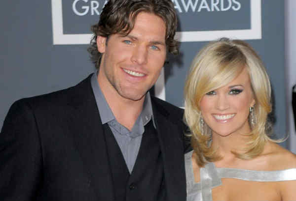 Carrie Underwood and husband Mike Fisher