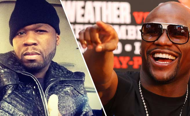 Floyd Mayweather tells 50 Cent give 750k to Michael Brown family