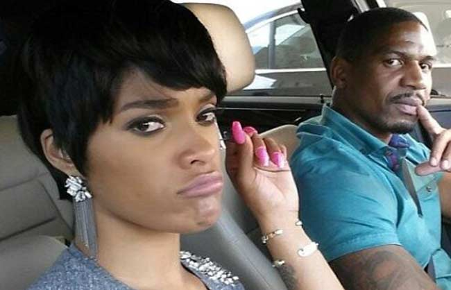 Joseline Stevie J in car
