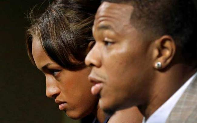 Ray Rice terminated Baltimore Ravens with wife Janay Palmer