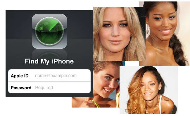 Find My iPhone – Celebrity Photo Scandal