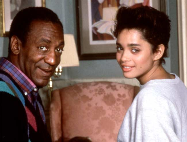 Bill Cosby and Lisa Bonet