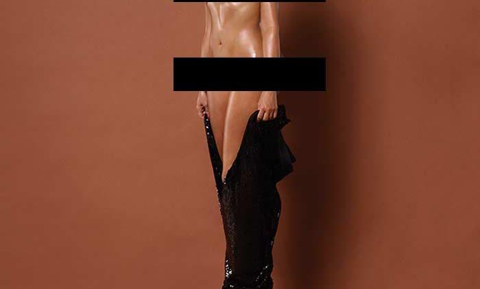 Kim Kardashian frontal Paper Mag