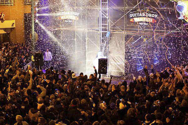 New Years on Beale