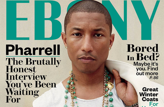 Pharrell ebony interview