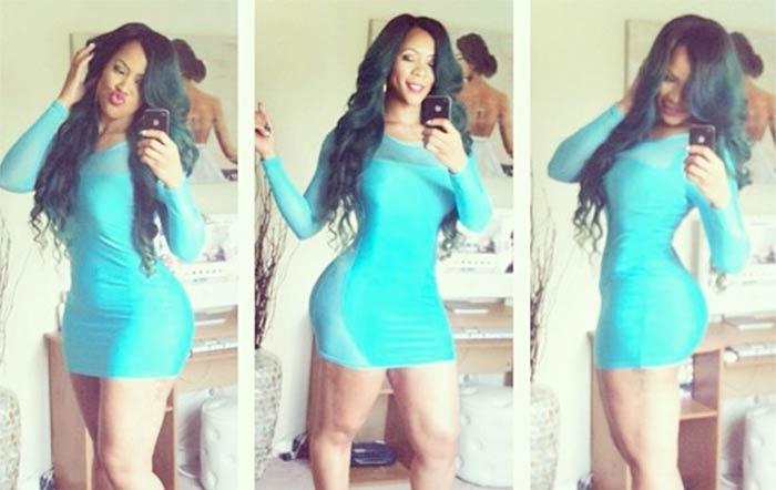 Deelishis aqua dress