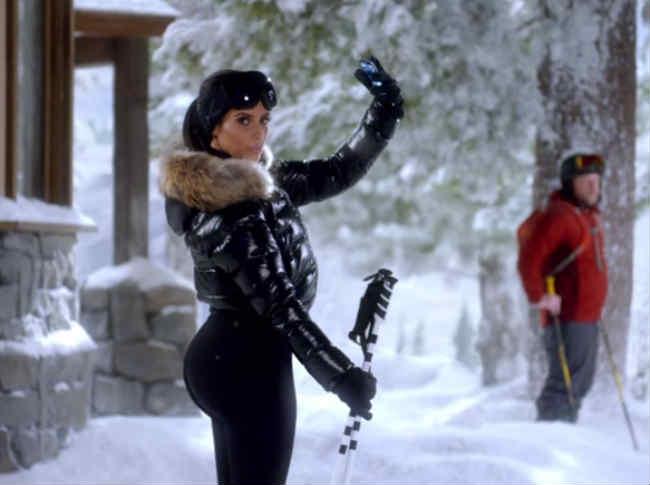 Kim Kardashian Superbowl DataStash T-Mobile