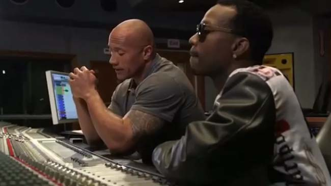 The Rock and Juicy J Wake Up Call